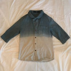Other - Transparent long sleeve but mid cut button down